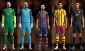 Barcelona 13-14 Kit Set by Ramz