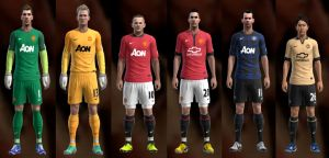 Manchester United 13-14 Kit Set by Ramz