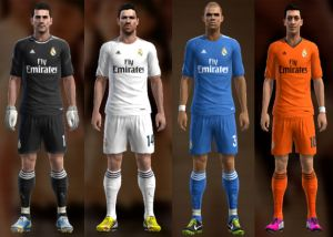 Real Madrid 13-14 Kit Set by Ramz