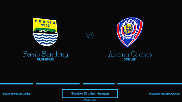 Persib vs Arema Wallpaper